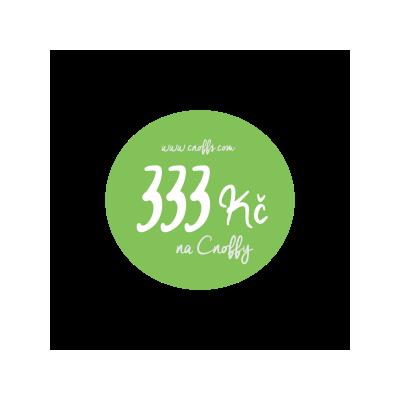 Dárkový poukaz 333 Kč